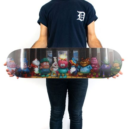 Ron English Art Print - Last Fat Breakfast - Skate Deck Variant