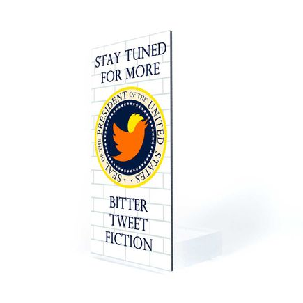 Ron English Art Print - Bitter Tweet Fiction - Welcome Wall