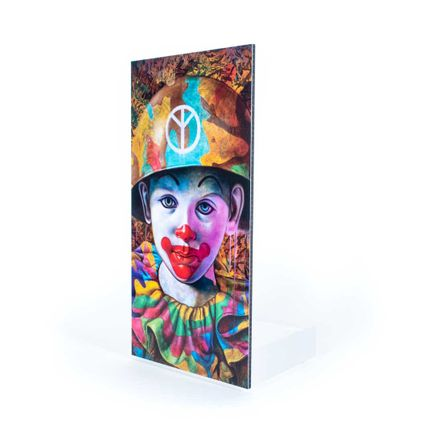 Ron English Art Print - Camo Peace Kid - Welcome Wall