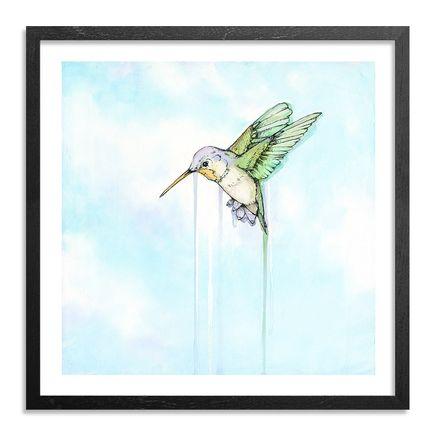 Sage Vaughn x Jude Angelini Art Print - Hummingbird - Standard Edition - Framed