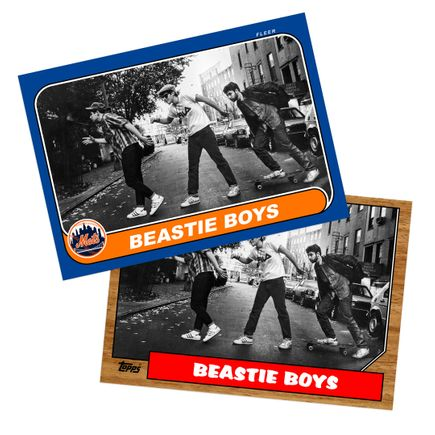 Ricky Powell Art Print - 2-Print Set - Charles Street Shuffle - May 1986 - New York, NY - Grand Slam Edition - Mets + Yankees Variant