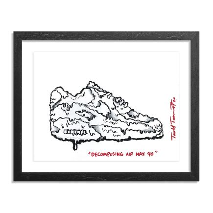 Sheefy Original Art - Decomposing Air Max 90 - Original Artwork