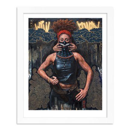 Tim Okamura Art Print - Storm Warrior - Standard Edition