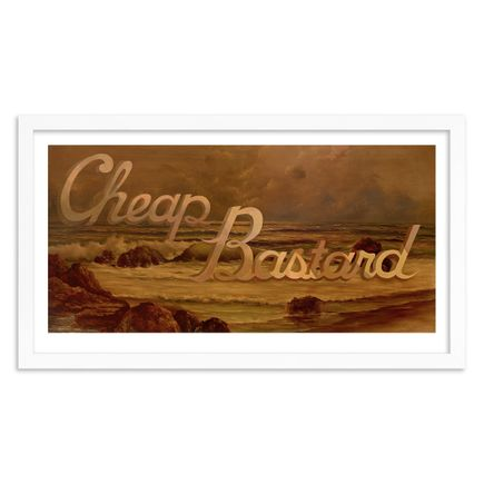 Wayne White Art Print - Cheap Bastard - Paper Edition