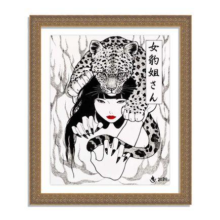 Yumiko Kayukawa Original Art - Original Artwork - Sister Leopardess