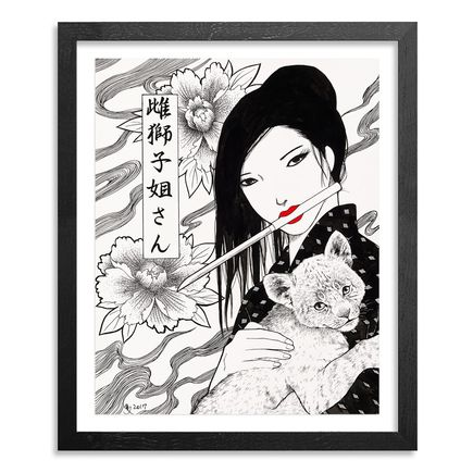 Yumiko Kayukawa Original Art - Original Artwork - Sister Lioness - Mejishi Neesan