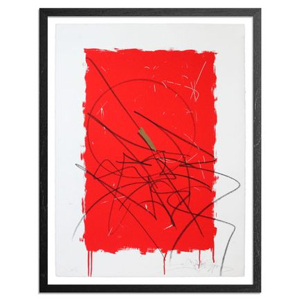 Saber Art - Declaration (Red) - Hand-Painted Multiple
