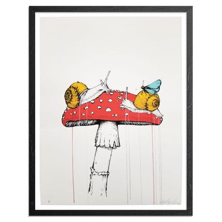 Sage Vaughn Art Print - Snails - Hand-Painted Multiple
