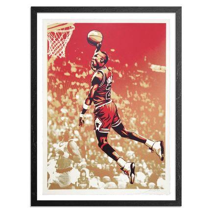 Shepard Fairey Art Print - Michael Jordan - Bulls
