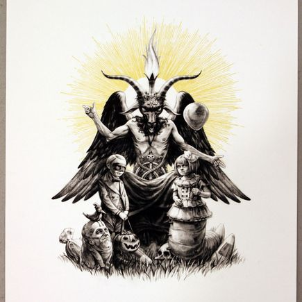 John Dunivant Art Print - The Devil