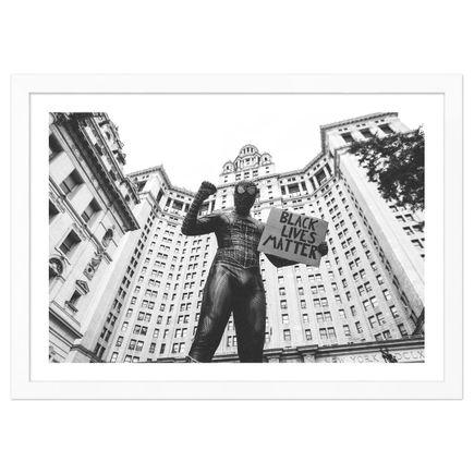 Mel D. Cole Art Print - Spider-Man. NYC. 2020