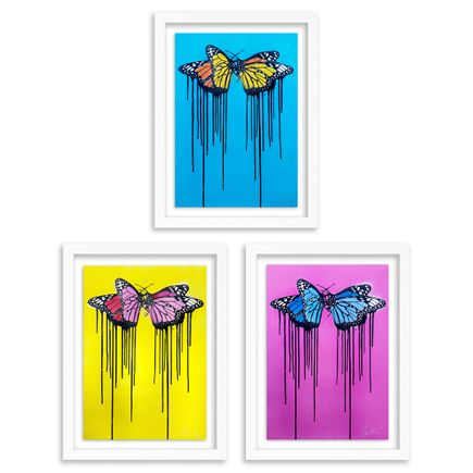 Copyright Art Print - Fly Love - 3-Print Set