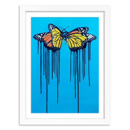 Copyright Art Print - Fly Love - Blue Edition