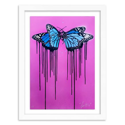Copyright Art Print - Fly Love - Pink Edition