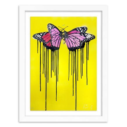 Copyright Art Print - Fly Love - Yellow Edition