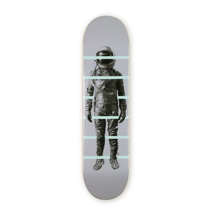 Cyrcle Art Print - Between The Lines - Skate Deck Variant