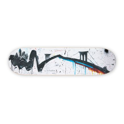 Gregory Siff Art Print - The New York Time - Skate Deck Variant