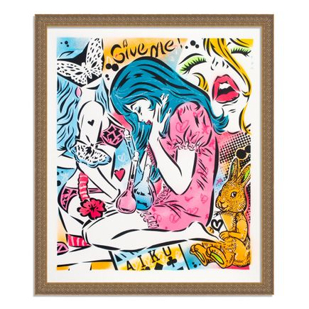 Aiko Art Print - Emotions - Hand-Painted Multiple - 02