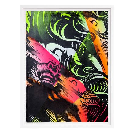ASVP Art Print - Triple Crown - Neon Edition