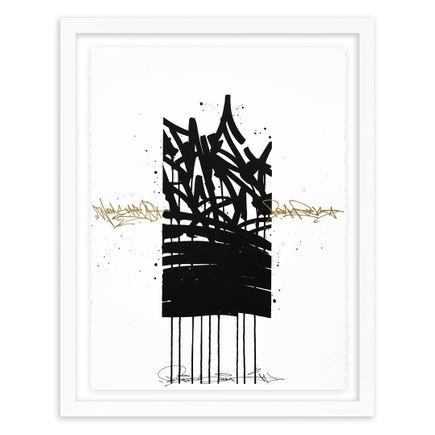 Bisco Smith Art Print - Take Risks - Hand-Embellished Edition - 02