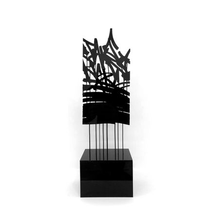 Bisco Smith Art - Take Risks - Acrylic Sculpture