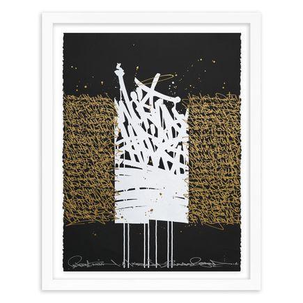 Bisco Smith Art Print - World Shift - Hand-Embellished Edition - 02
