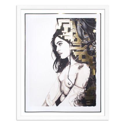 Brandon Boyd Art Print - Nicole In Profile - Foil Edition