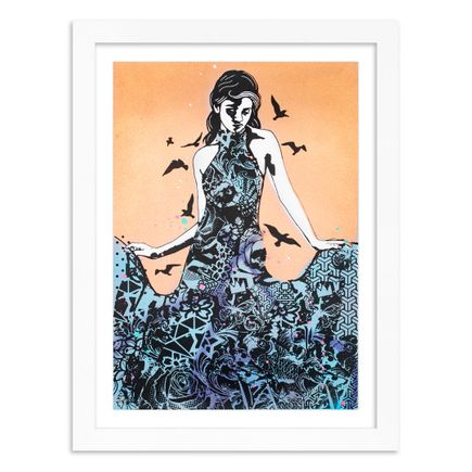 Copyright Art Print - Elegance Rising - Metallic Copper