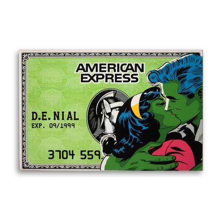 Denial Original Art - American Expression - 36 x 24 Inch Panel