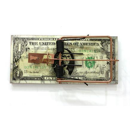 Denial Original Art - American Rat Trap - Original Artwork