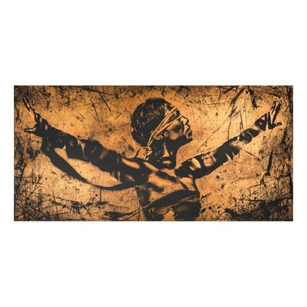 Eddie Colla Art Print - Faith - Copper Edition
