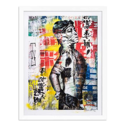 Eddie Colla Art Print - 2 of 40 - Without Excuse - Hand-Embellished Edition