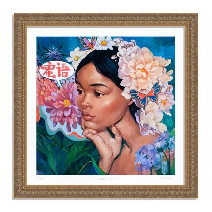 Helice Wen Art Print - A Garden Within - Hand-Embellished Edition - Variant II