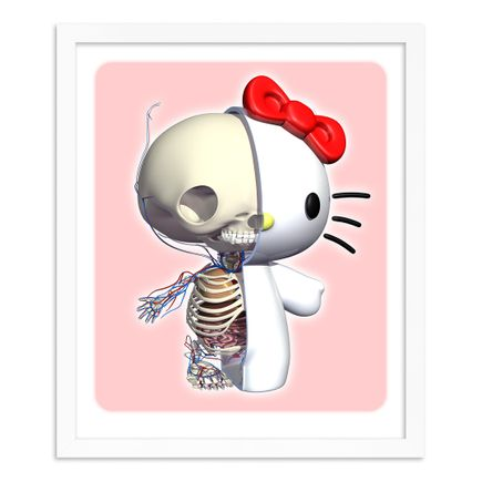 Jason Freeny Art Print - Kitty Half-N-Half