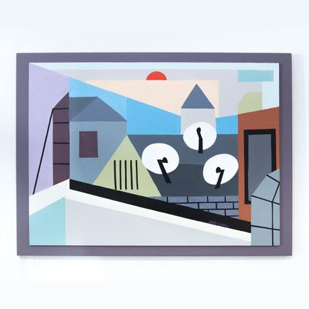 Jesse Kassel Original Art - Original Artwork - Satellites