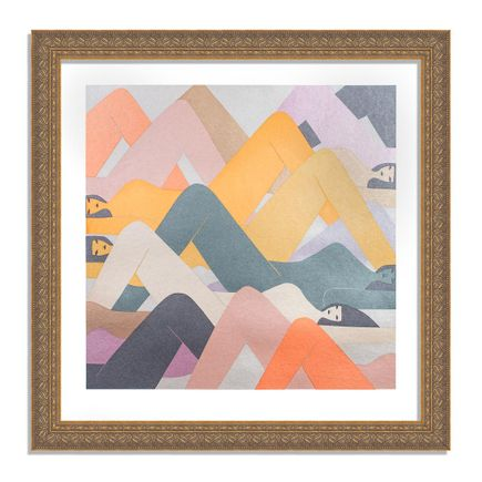Laura Berger Art Print - As Mountains - Printer's Selects