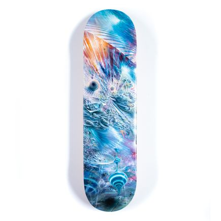 Mars 1 Art Print - Invisible Domain - Skate Deck Variant