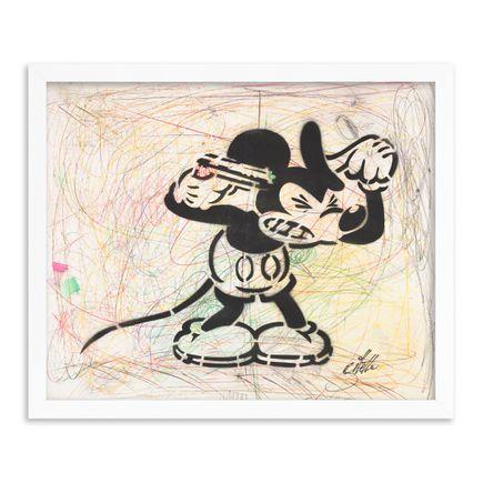 Jeff Gillette Original Art - 02 - Mickey Suicide - Part II - Hand-Painted Multiples