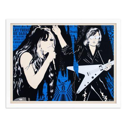 Niagara x Shepard Fairey Art Print - Let There Be Dark - Blue Edition