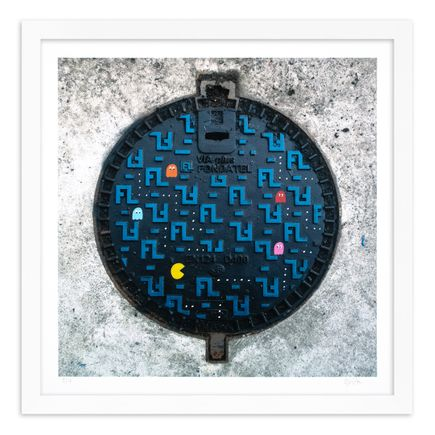 OakOak Art Print - 2 of 15 - Pac Man: Level I - Hand-Painted Multiples