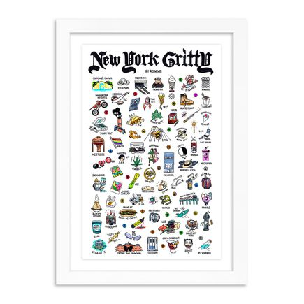 Roachi Art Print - New York Gritty - Full-Color Edition