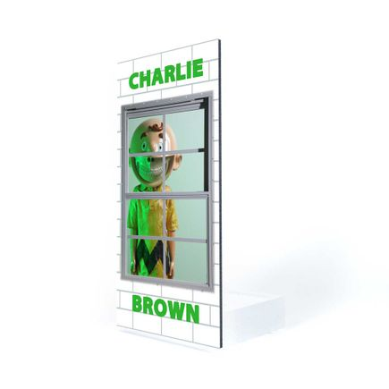 Ron English Art Print - Charlie Brown - Welcome Wall