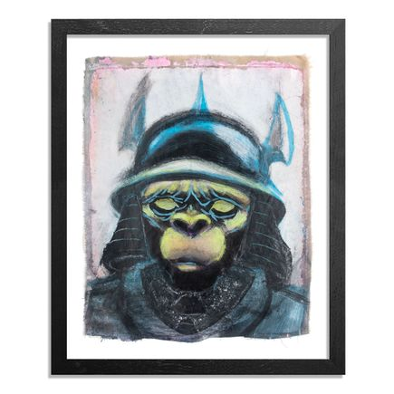 Ron Zakrin Original Art - Green Ape