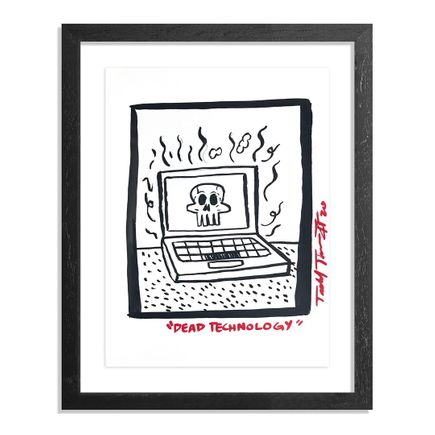 Sheefy Art Print - Dead Technology - Original Artwork