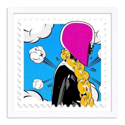 Steve Bravo PopToyPop Art Print - Get Em' Girl Cel