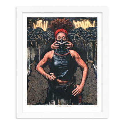 Tim Okamura Art Print - Storm Warrior - Hand-Embellished Edition