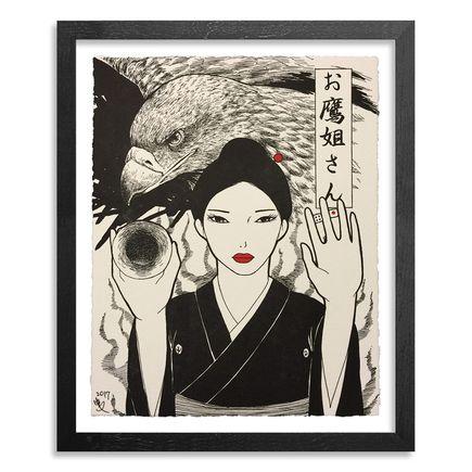 Yumiko Kayukawa Art Print - Sister Hawk - Otaka Neesan