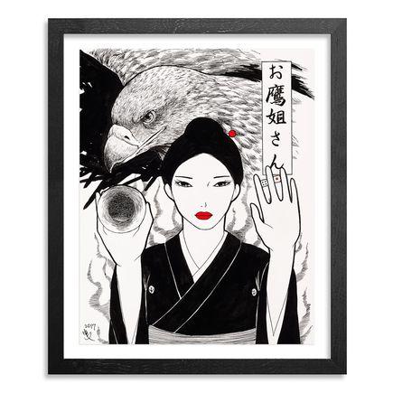 Yumiko Kayukawa Original Art - Original Artwork -Sister Hawk - Otaka Neesan