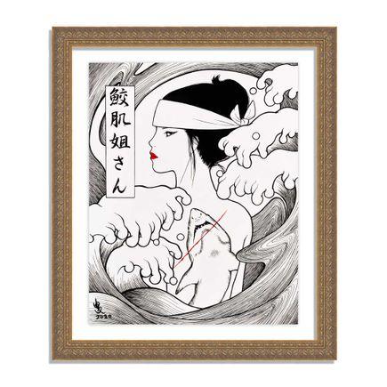 Yumiko Kayukawa Original Art - Original Artwork - Sister Sharkskin