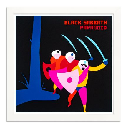 Jim Houser Art Print - Black Sabbath - Standard Edition